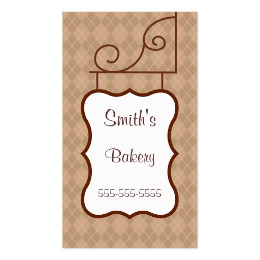 Professional Sign Business Card
