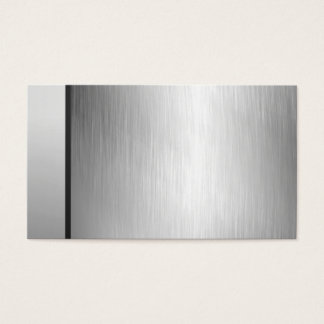 Professional Silver Business Cards
