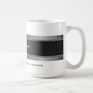Professional Silver Metal Promotion Business Mug