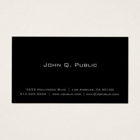 Elegant Business Cards & Templates | Zazzle