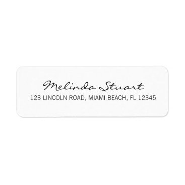 Professional Business Professional Simple Modern White Label