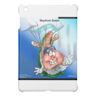 Professional Skydiver Sushi Gifts Cards Etc iPad Mini Cover