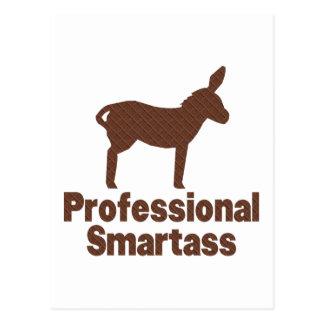 Professional Smartass Postcard