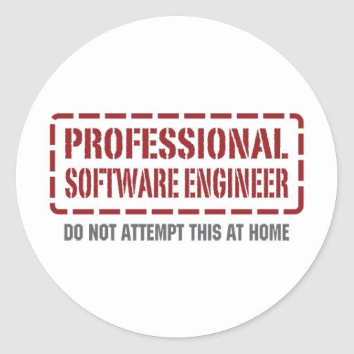 Professional Software Engineer Stickers