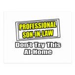 Professional Son-In-Law...Joke Post Cards
