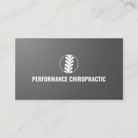 Professional Spine Logo Chiropractor Doctor