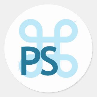 Professional Squids Logo Round Sticker