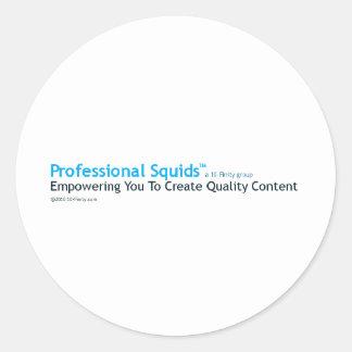 Professional Squids Logo Stickers