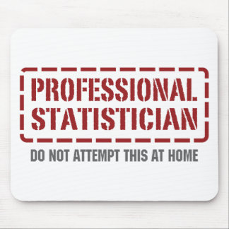 Professional Statistician Mouse Pad