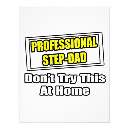 Professional Step-Dad...Joke Full Color Flyer