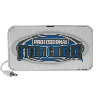 Professional Storm Chaser Doodle Notebook Speakers