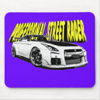 Professional Street Racer Pad Mouse Pad