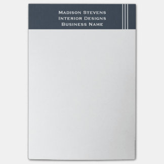 Professional Stripes in Blue Post-it® Notes