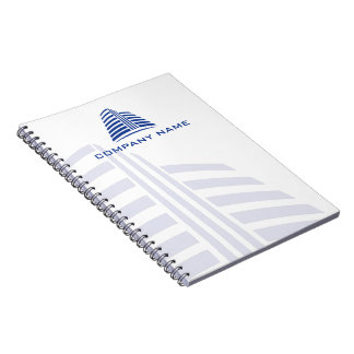 Professional, stylish real estate or construction… notebook