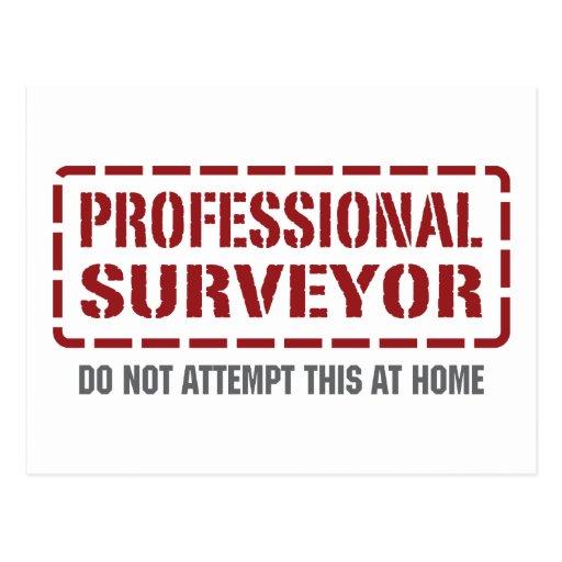 Professional Surveyor Postcards