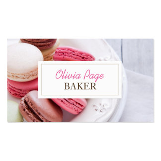 Professional Sweets Bakery Business Card