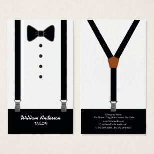 bow tie shaped business cards arts arts