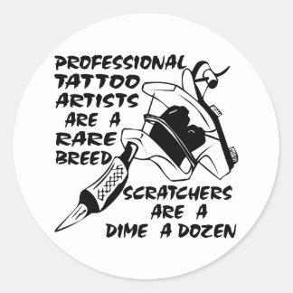 Professional Tattoo Artists Are A Rare Breed Sticker