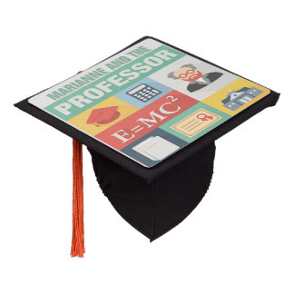 Professional Teacher Iconic Designed Graduation Cap Topper