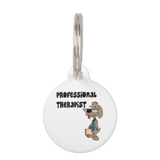 PROFESSIONAL THERAPIST PET NAME TAGS