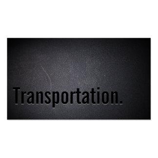 Professional Transportation Broker Business Card