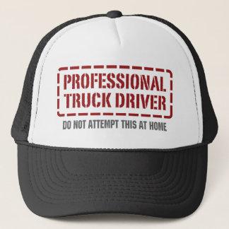 Professional Truck Driver Trucker Hat