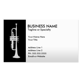 professional trumpet Double-Sided standard business cards (Pack of 100)