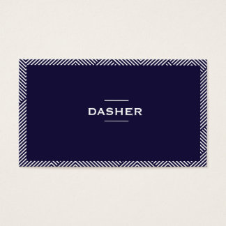 Professional Two-Sided Business Card Art Lines