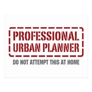 Professional Urban Planner Postcard