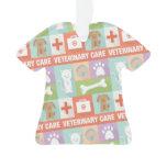 Professional Veterinarian Iconic Designed Ornament