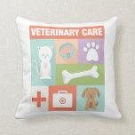 Professional Veterinarian Iconic Designed Pillow