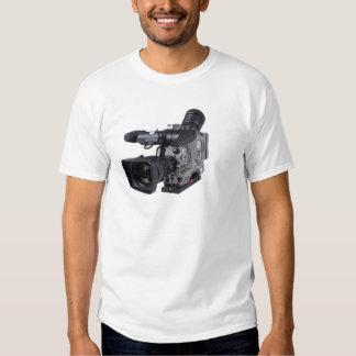 professional video camera t-shirt