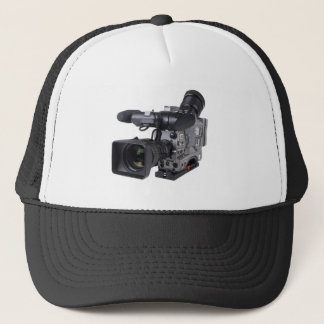 professional video camera trucker hat