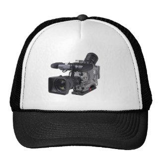 professional video camera trucker hat
