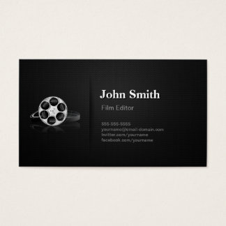Video production business cards templates zazzle for Video production business cards