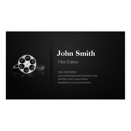 professional video film editor cutter director double