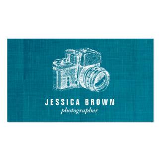 Professional Vintage Photographer Business Card