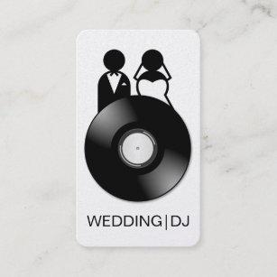 Wedding dj business cards templates zazzle professional wedding dj logo business cards colourmoves