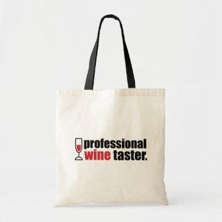 Professional Wine Taster Canvas Bag
