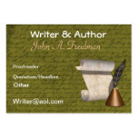 Professional Writers Business Card