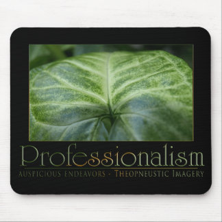 Professionalism Mouse Pad