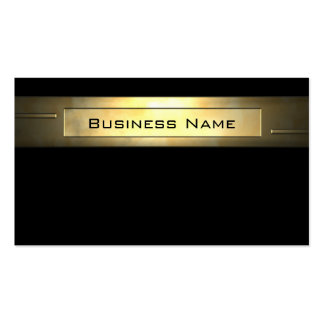 Professionall del negocio 2 del oro tarjetas de visita