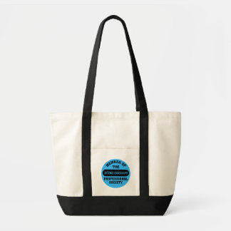 Professionally trained to make sarcastic comments tote bag