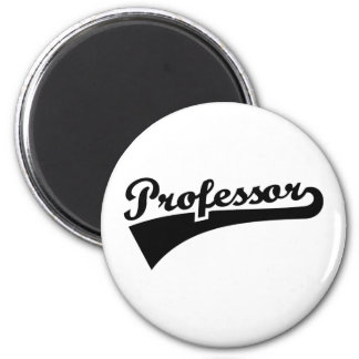 Professor 2 Inch Round Magnet