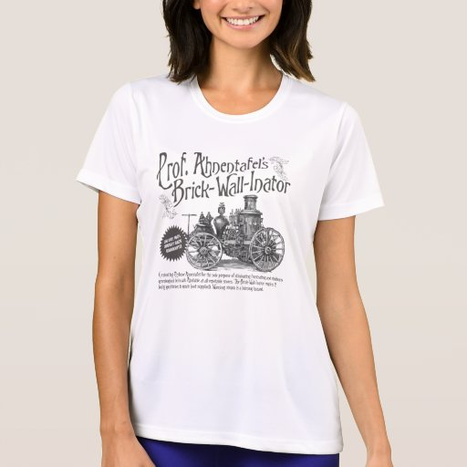 Professor Ahnentafel's Brick-Wall-Inator T Shirt