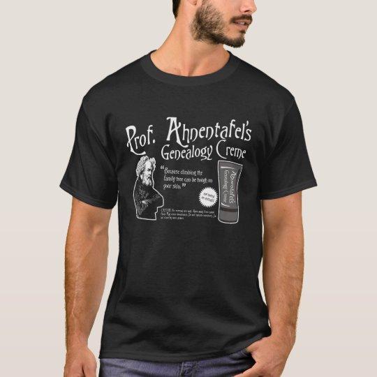 Professor Ahnentafel's Genealogy Creme T-Shirt