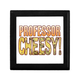 Professor Blue Cheesy Jewelry Box