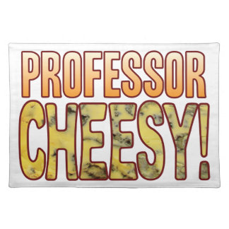 Professor Blue Cheesy Placemat