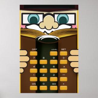 Professor Calculator Posters