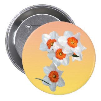 Professor Einstein's Flower Button